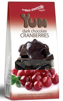 Miss Sweetie Dark Chocolate Cranberries