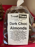 Dark or Milk Chocolate Almonds AU Made