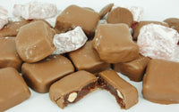 Milk Chocolate Turkish Delight contains Almonds