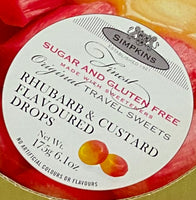 Travel Sweets Rhubarb & Custard SF GF