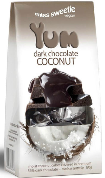 Miss Sweetie Dark Chocolate Coconut