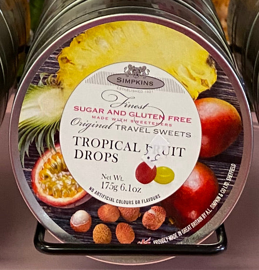 Travel Sweets Tropical Fruits SF GF