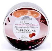 Simpkins Sugar & Gluten Free Cappuccino Travel Sweets 175g