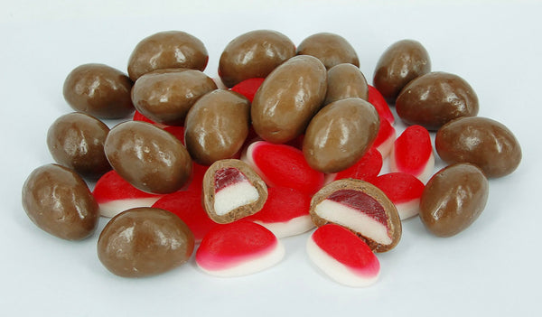 Milk Chocolate coated Strawberry & Cream lollies