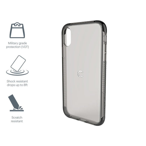 iPhone XS Max Protective Case in Black - Cygnett (AU)