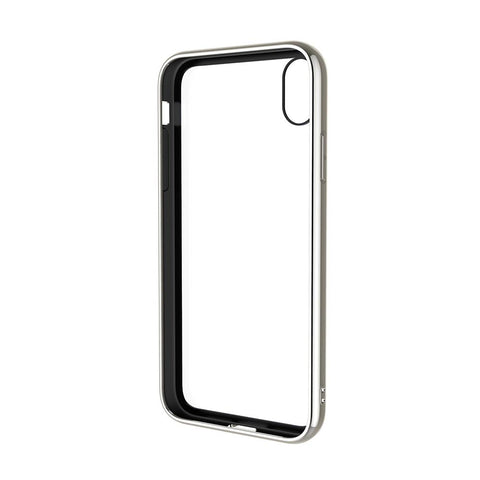 iPhone XR Tempered Glass Case - Silver - Cygnett (AU)