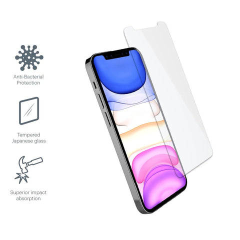 iPhone 12 & 12 Pro Tempered Glass Screen Protector - Cygnett (AU)