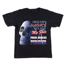 Load image into Gallery viewer, Skull Black T-Shirt