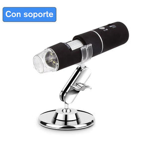 Microscopio digital USB Domom® LED digital conectable a PC