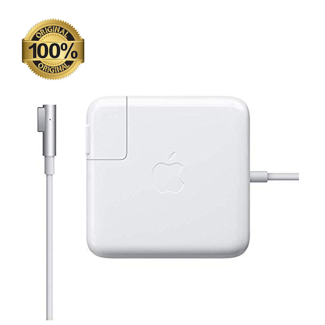 Cargador original apple magasafe1 45W blanco 14.5V 3.1A	4 pines Consultar stock