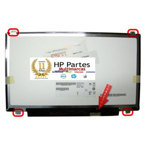 "Pantalla 13.3"" Led SLIM HD 40 PINES HP DELL SONY ACER Lenovo"