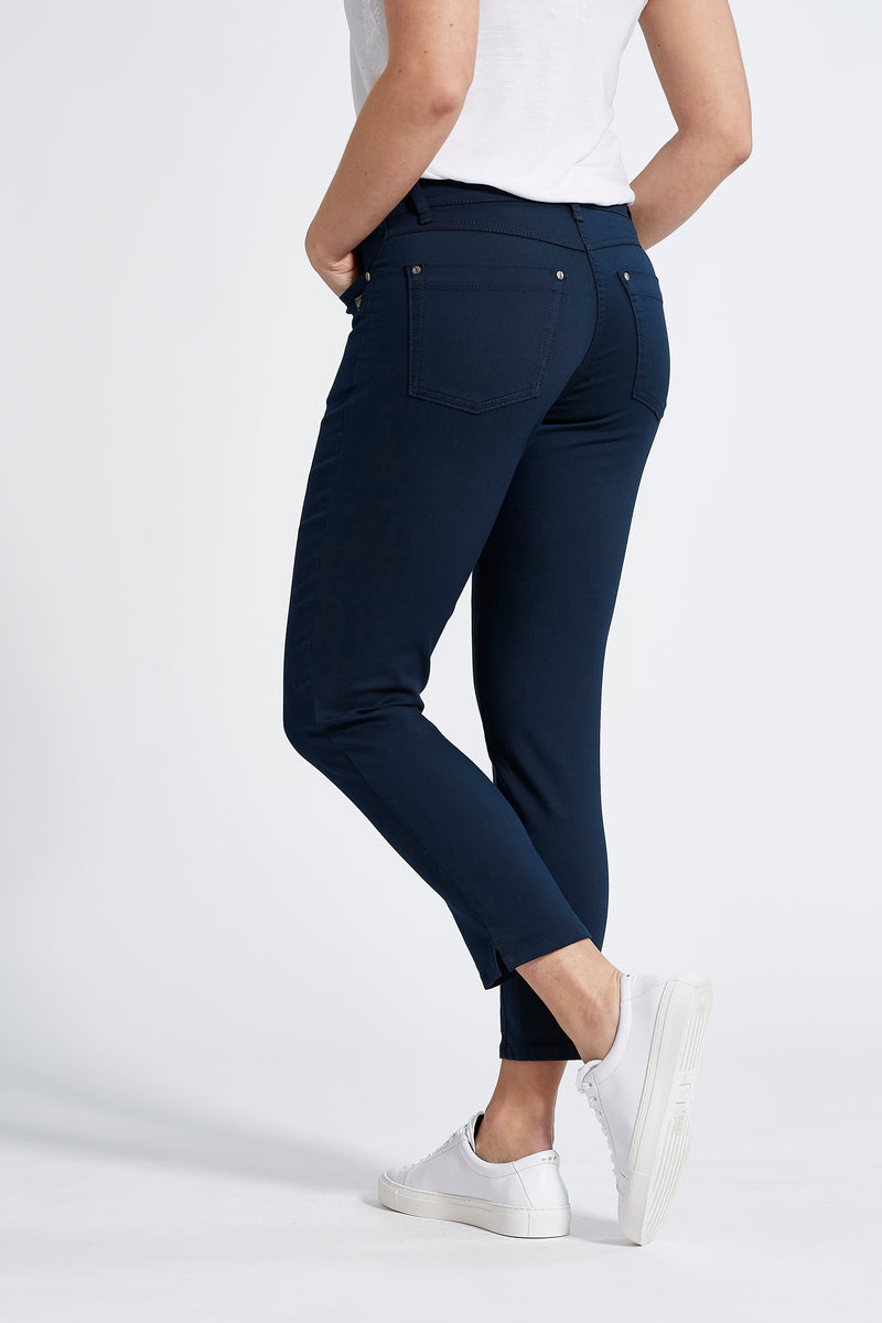 Laura Crop - Navy