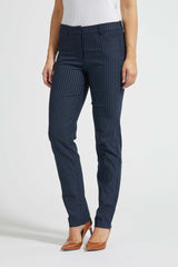 Brooke Classic ML - Navy Pinstripe