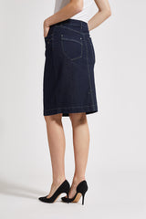 Sheryl Pencil - Dark Blue Denim