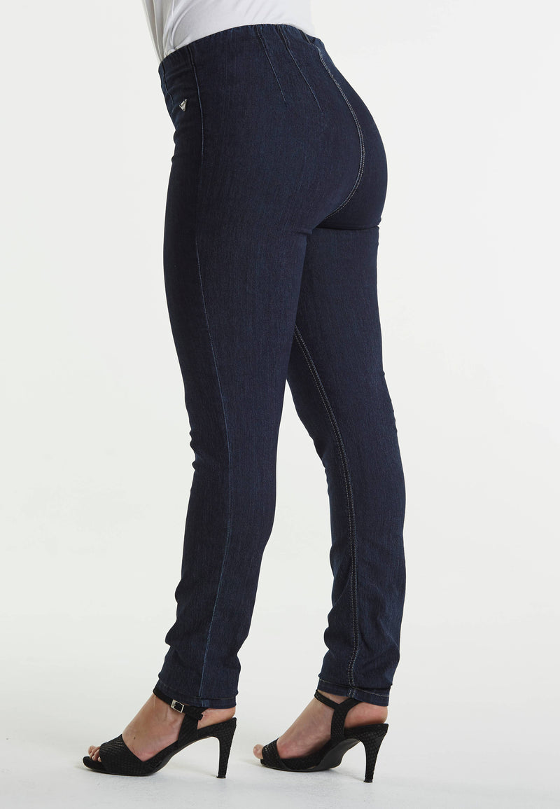 Vicky Slim SL - Dark Blue Denim