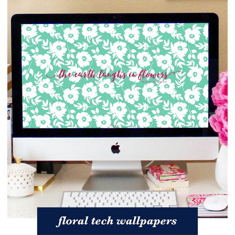 free tech wallpapers for subscribers - floral wallpapers