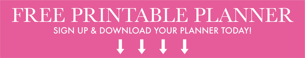 sign up to access the free printable planner!