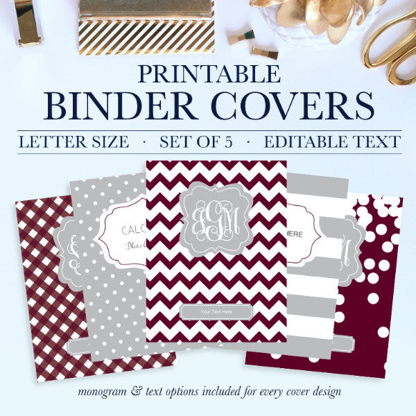 graphic about Binder Covers Printable identified as Printable Binder Addresses