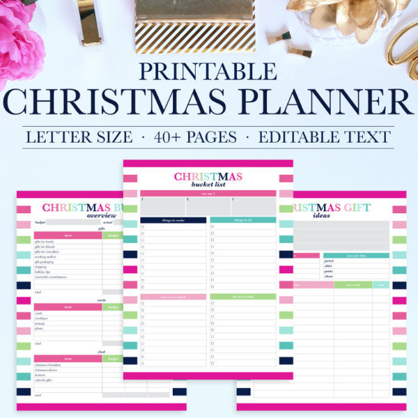 Christmas Planner Kit – Jessica Marie Design