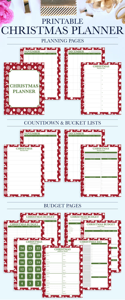its the most wonderful time of the year stay organized and enjoy the holiday season