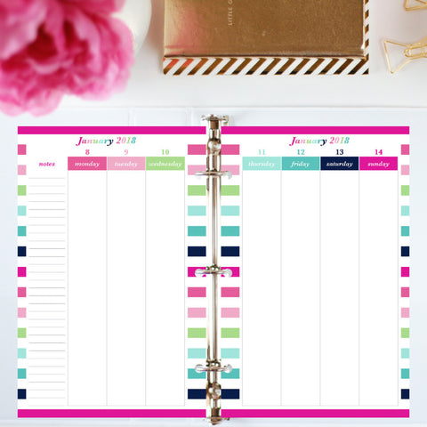 Free Planner Sample! Download the samples and pick the perfect planner for you!