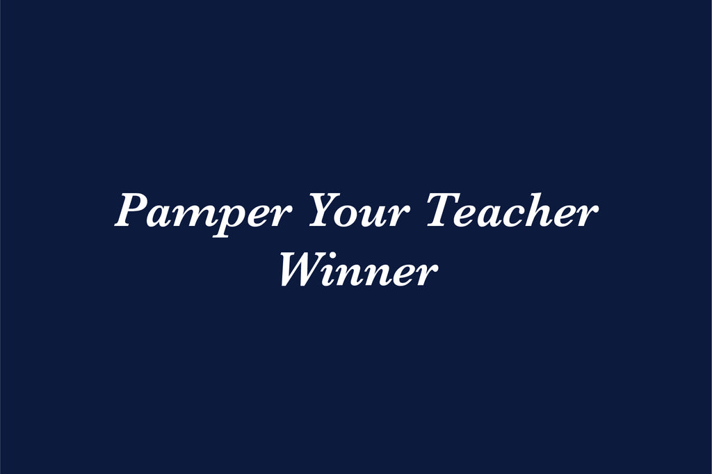 Pamper Your Teacher Winner Download