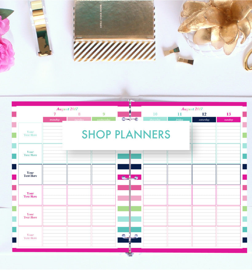 Shop Printable Planners by Jessica Marie Design