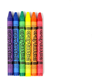 Bulk Premium Crayons (6 Colors) for Schools, Classrooms, Restaurants, Offices, Crafts and More - Safety Tested Compliant with ASTM D-4236