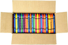 Load image into Gallery viewer, Bulk Premium Crayons (6 Colors) for Schools, Classrooms, Restaurants, Offices, Crafts and More - Safety Tested Compliant with ASTM D-4236