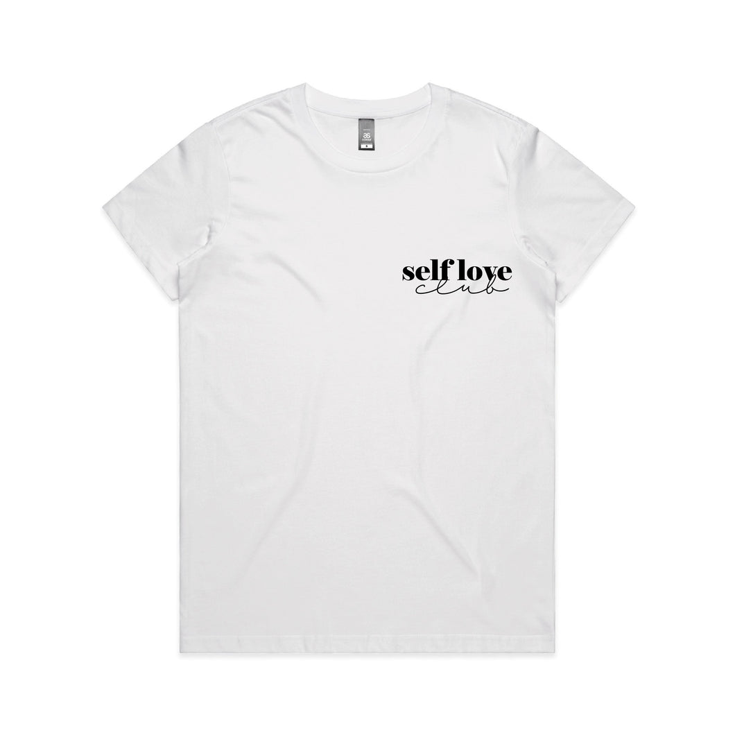 Self Love Club Tee - White