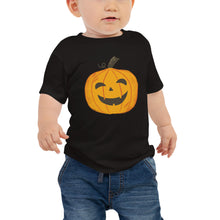 Load image into Gallery viewer, Happy Jack-O-Lantern - Baby Jersey Short Sleeve Tee