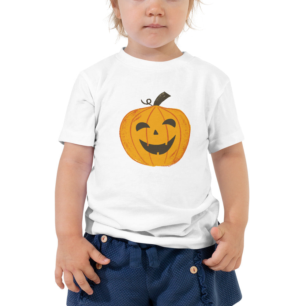 Happy Jack-O-Lantern - Toddler Short Sleeve Tee