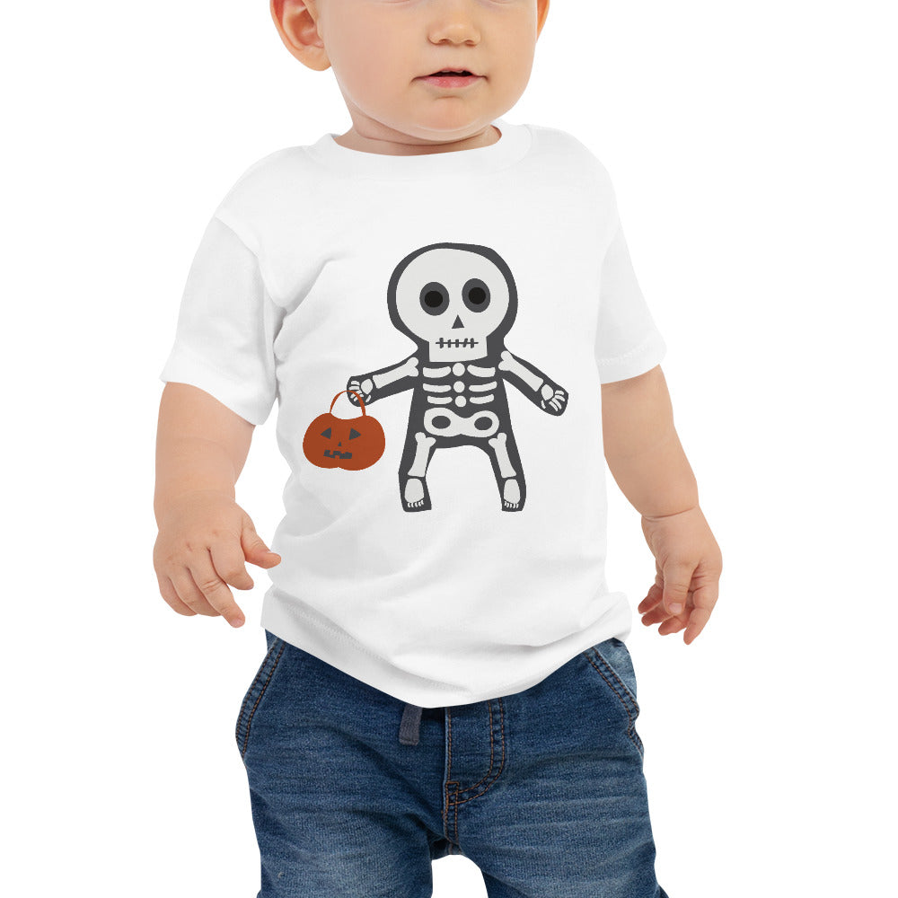 Trick or Treat Skeleton - Baby Jersey Short Sleeve Tee