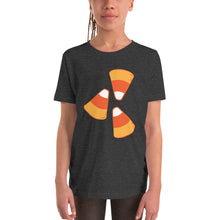 Load image into Gallery viewer, Candy Corn - Youth Short Sleeve T-Shirt