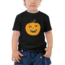 Load image into Gallery viewer, Happy Jack-O-Lantern - Toddler Short Sleeve Tee