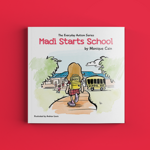 Madi starts school (IN STOCK - purchase in store only)