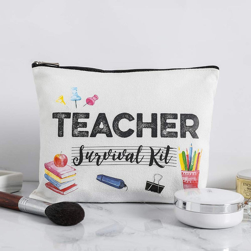 Teacher Survival Kit Pouch