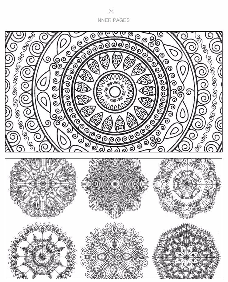 Well-being & Mindfulness Coloring Book Pack