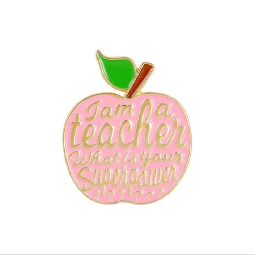 I am A Teacher Enamel Pin