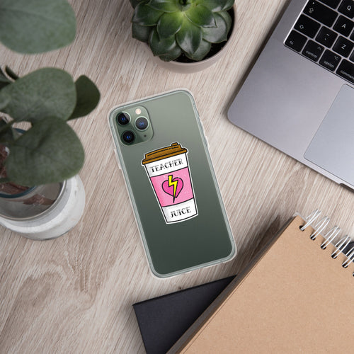 Teacher Juice iPhone Case