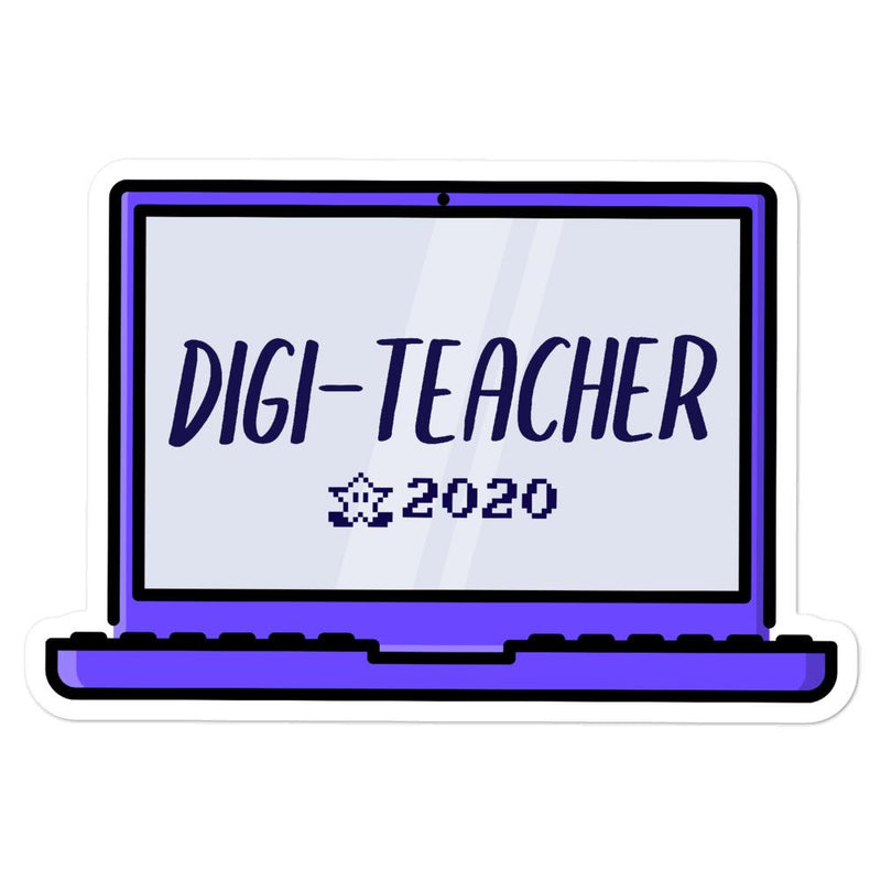 Digi-Teacher 2 Sticker