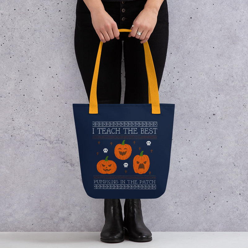 Best Pumpkins In The Patch Halloween Tote bag
