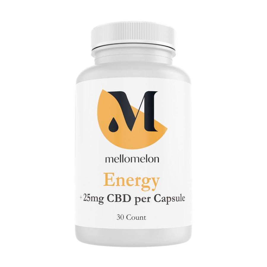 Energy and Focus Capsule (25mg/capsule) MelonHemp
