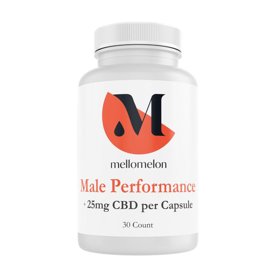 Male Performance capsules (25mg/capsule) MelonHemp