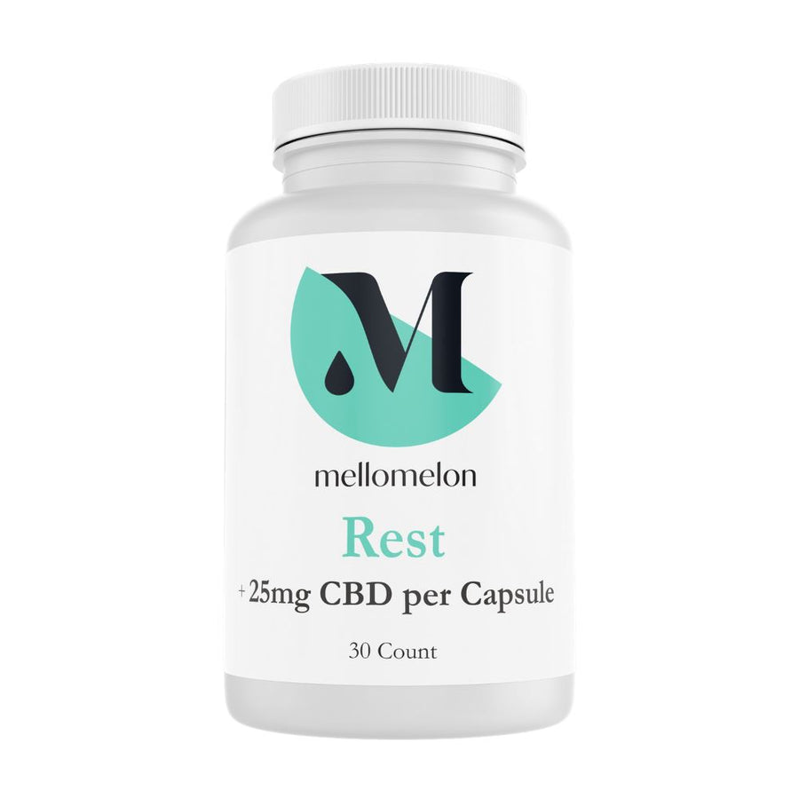 Sleep Support CBD Capsules (25mg/capsule) MelonHemp