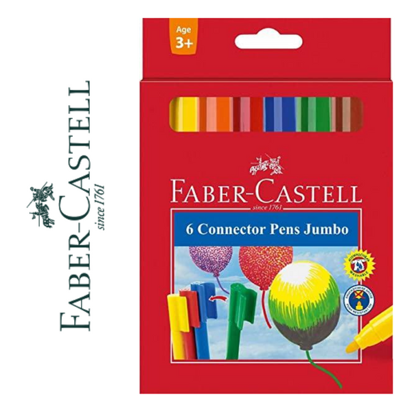 ROTULADORES FABER-CASTELL CONNECTOR PENS JUMBO