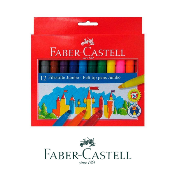 ROTULADORES FABER-CASTELL JUMBO - PACK 12-24 PIEZAS