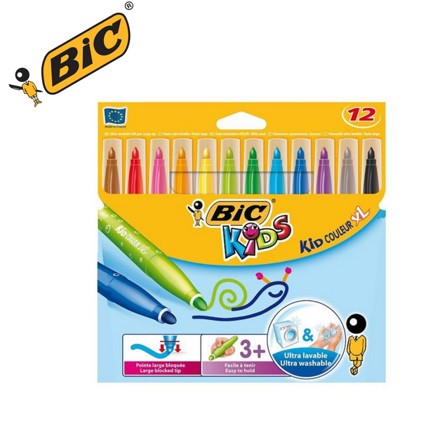 ROTULADORES BIC KID COLEUR XL - PACK 12