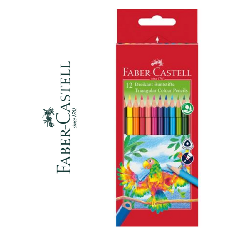 LÁPIZ DE COLOR FABER-CASTELL TRIANGULAR