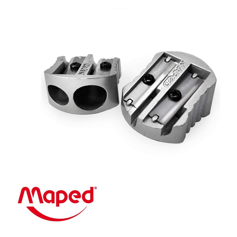 SACAPUNTAS MAPED METAL DOBLE